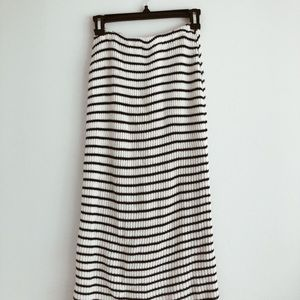 * FLASH SALE* Vintage Stripe Knit Skirt